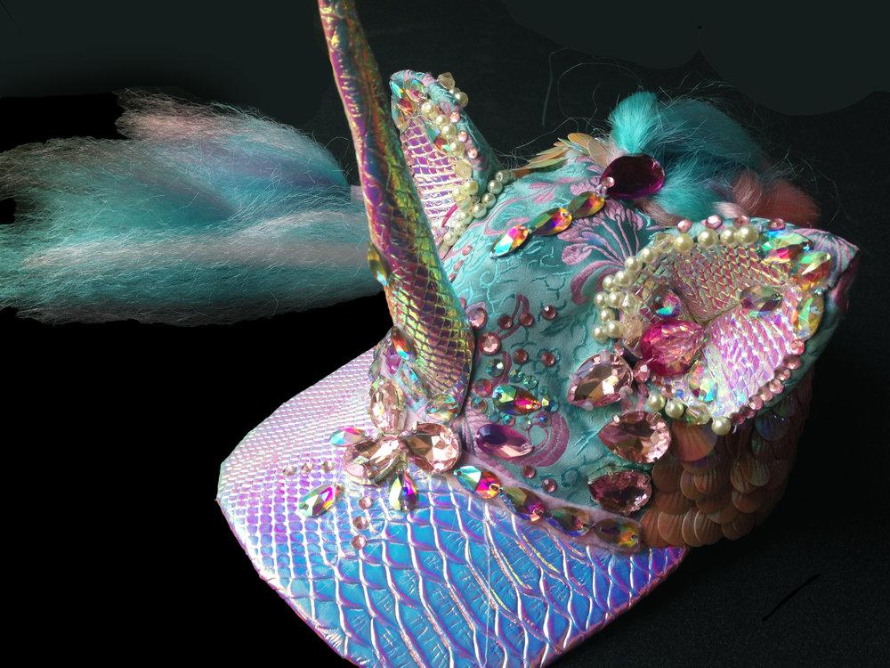 Crystal Dreams Unicorn Cap