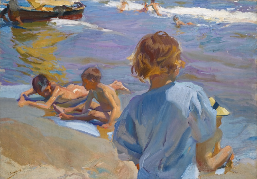 Joaquin Sorolla's colors