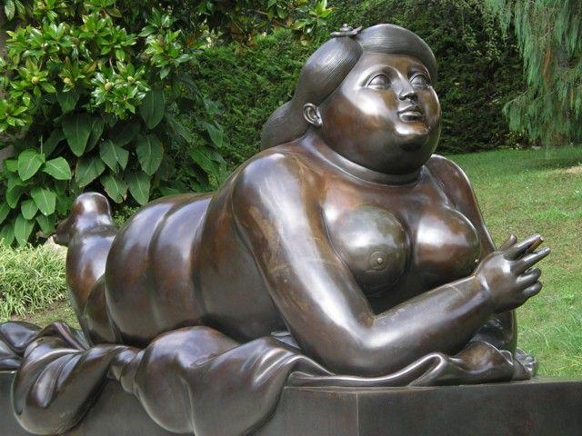 Fernando Botero's playfulness