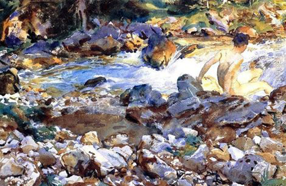 John Singer Sargent's watercolors