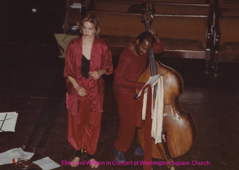 Ellen Christi and William Parker at Washington Square Church Named.jpg
