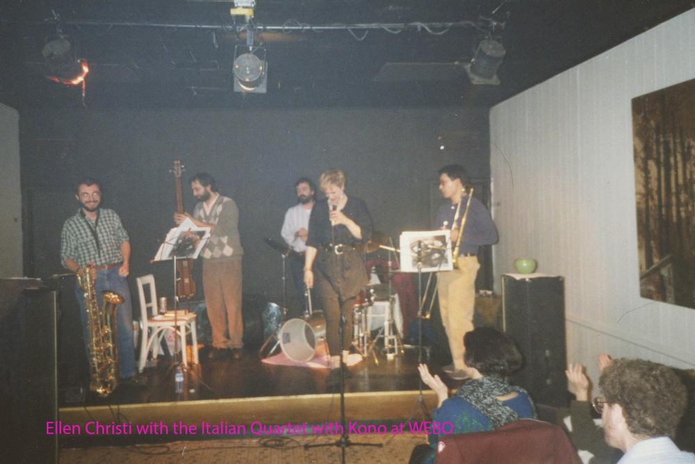 Ellen Christi Fiorenzo Sordini Quartet at WEBO 2 named.jpg