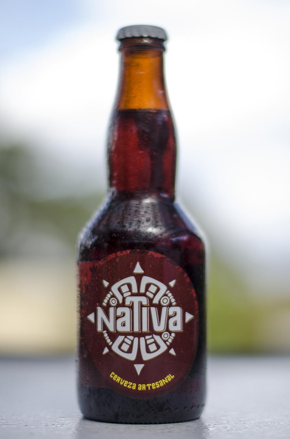 Nativa  - Yahuarcocha Ale  Amber  5,5%