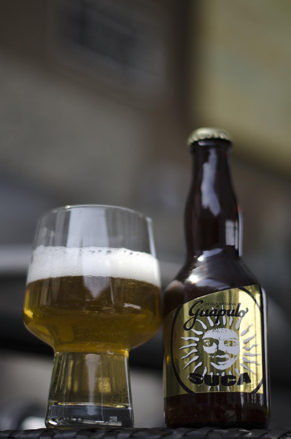 Cervecería Guápulo  - Suca  Rubia  5,5%