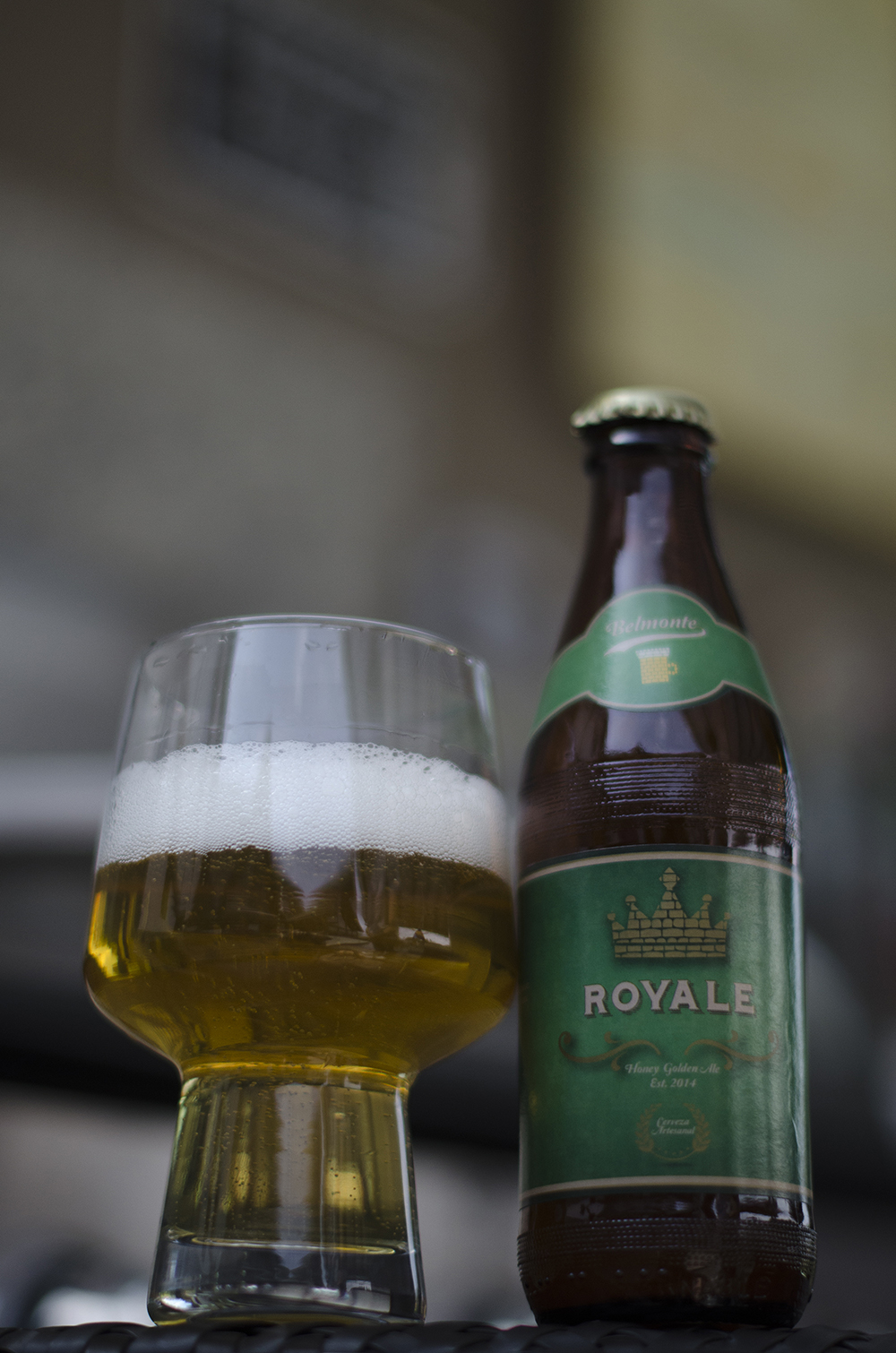 Belmonte Brewery  - Royale  Honey Golden Ale  5,5%