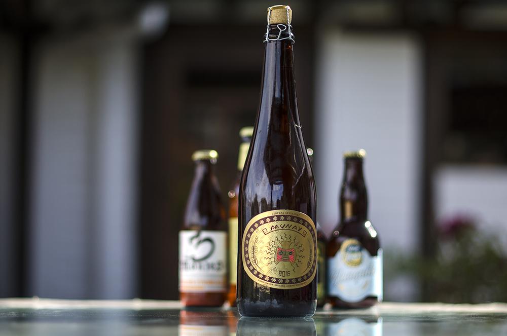 Cervecería Quiteña  - Munay  Belgian Triple  6,7%