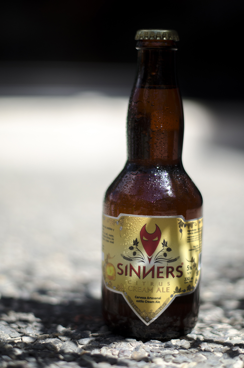Sinners Brewery   Citrus Cream Ale  5.0%
