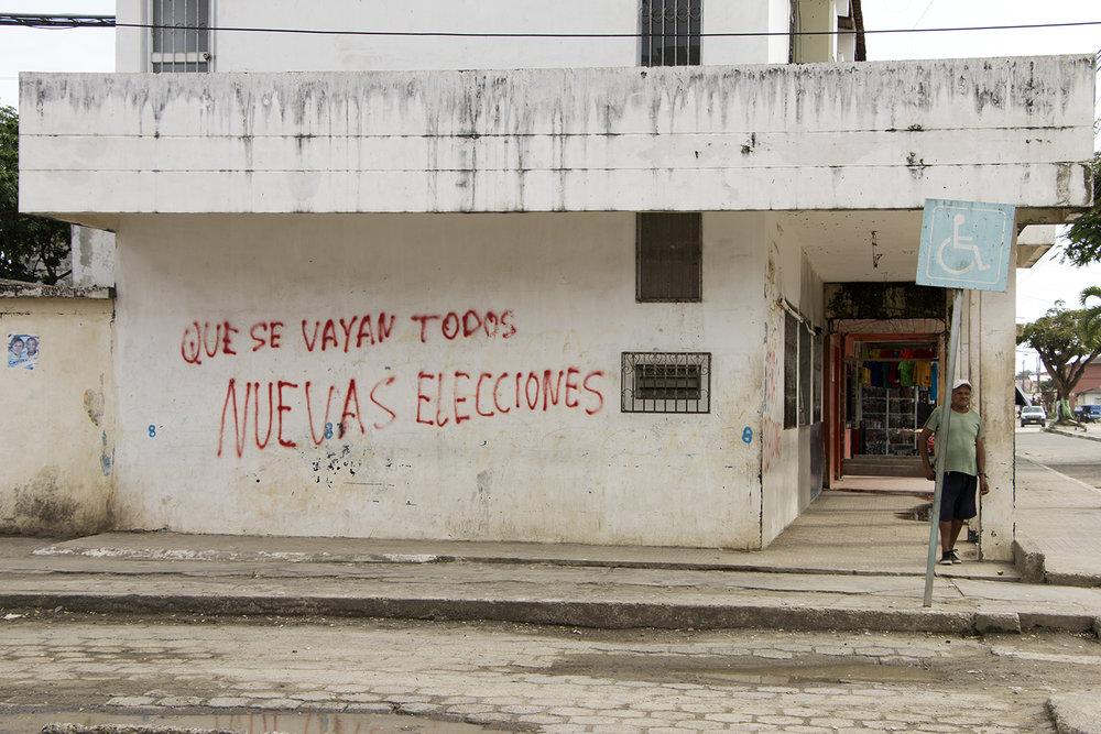 A pesar de las críticas al actual gobierno por el desalojo y el abandono por parte de las autoridades, en Muisne el  vencedor de las últimas elecciones fue Lenín Moreno.