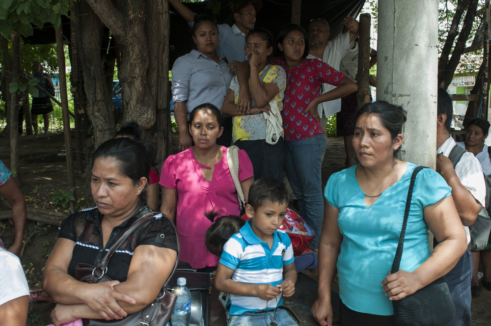 Mujeres, El Salvador - pandillas