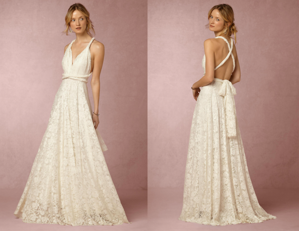 The Noelle dress from BHLDN.