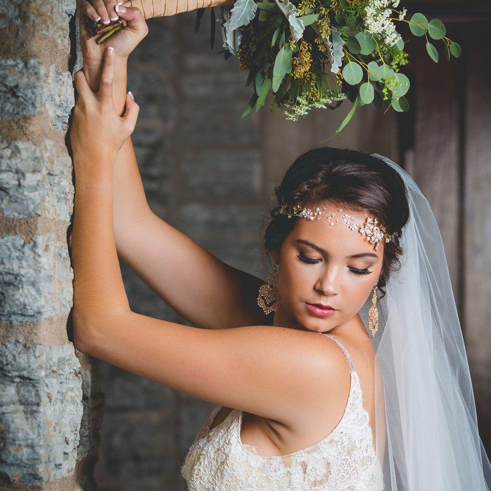 Mn airbrush makeup and bridal updo