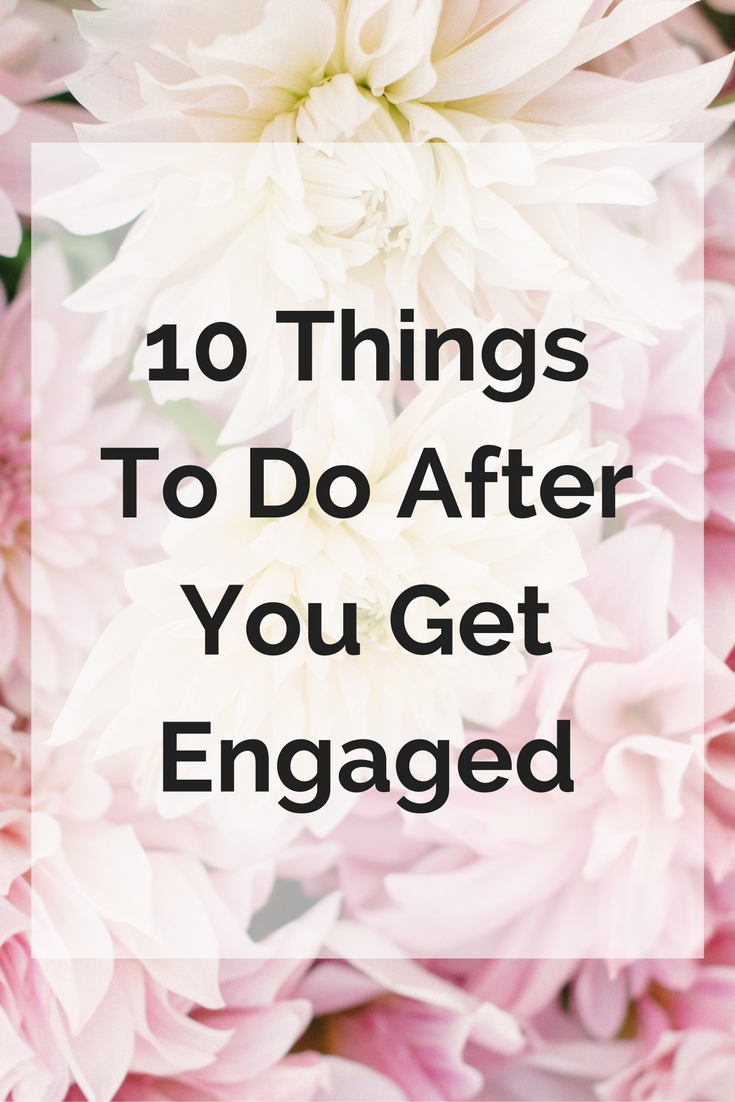 10 things to do after you get engaged | Seattle wedding planner