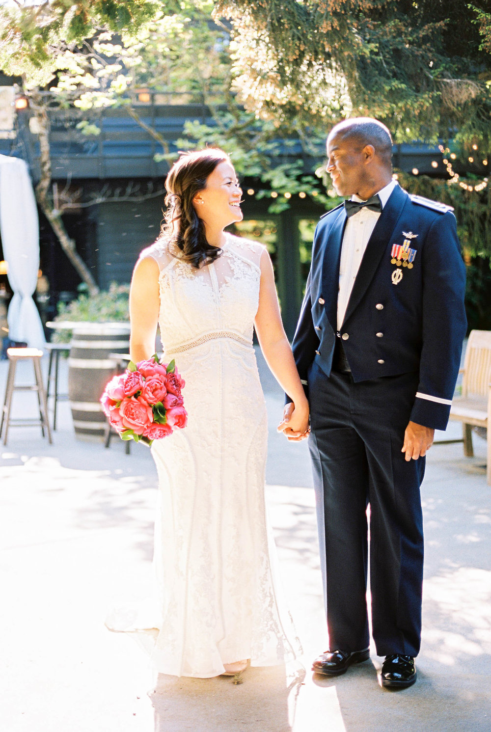 Wedding Planner Seattle | Wedding Wise | Kerry Jeanne Photography | JM Cellars Wedding | Fuschia and navy blue wedding