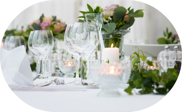Classic garden wedding centerpieces | Wedding Wise Seattle Planning