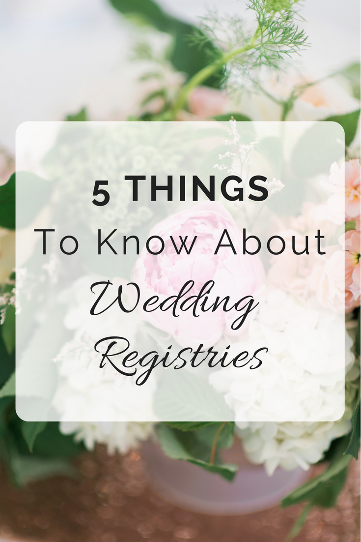 5 Things to Know about Wedding Registries | Seattle Wedding Planner | Wedding Wise