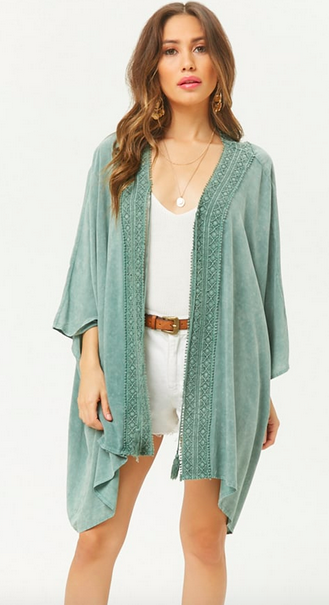 The perfect Kimono - Goes with everything!