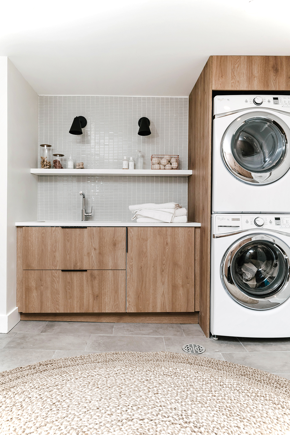 Annabode laundry room renovation