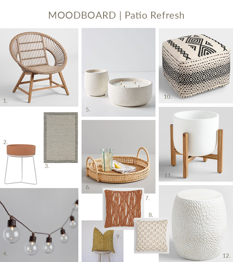 patio moodboard