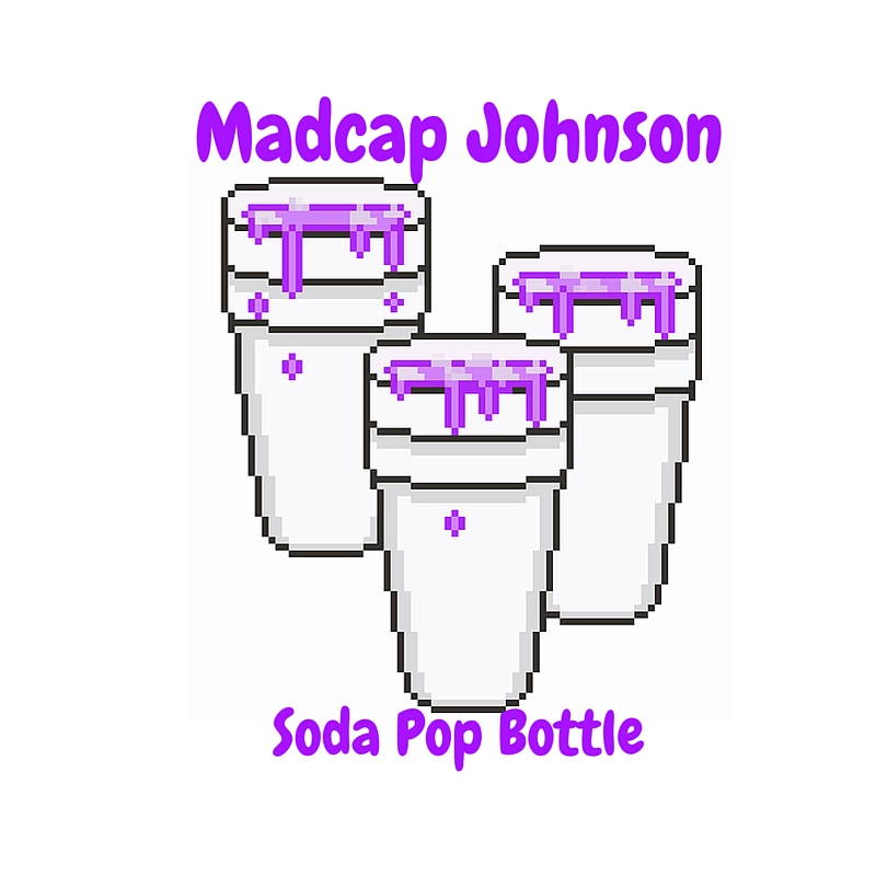 Madcap Johnson Soda Pop Bottle