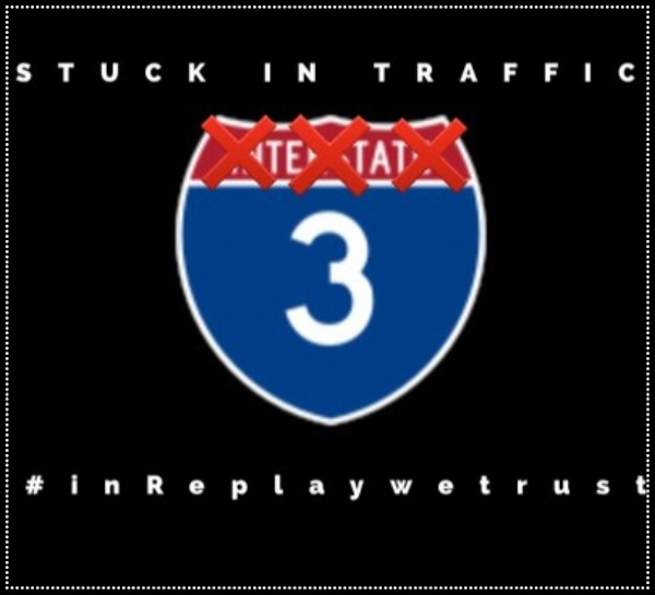 DJ Replay Stuck In Traffic