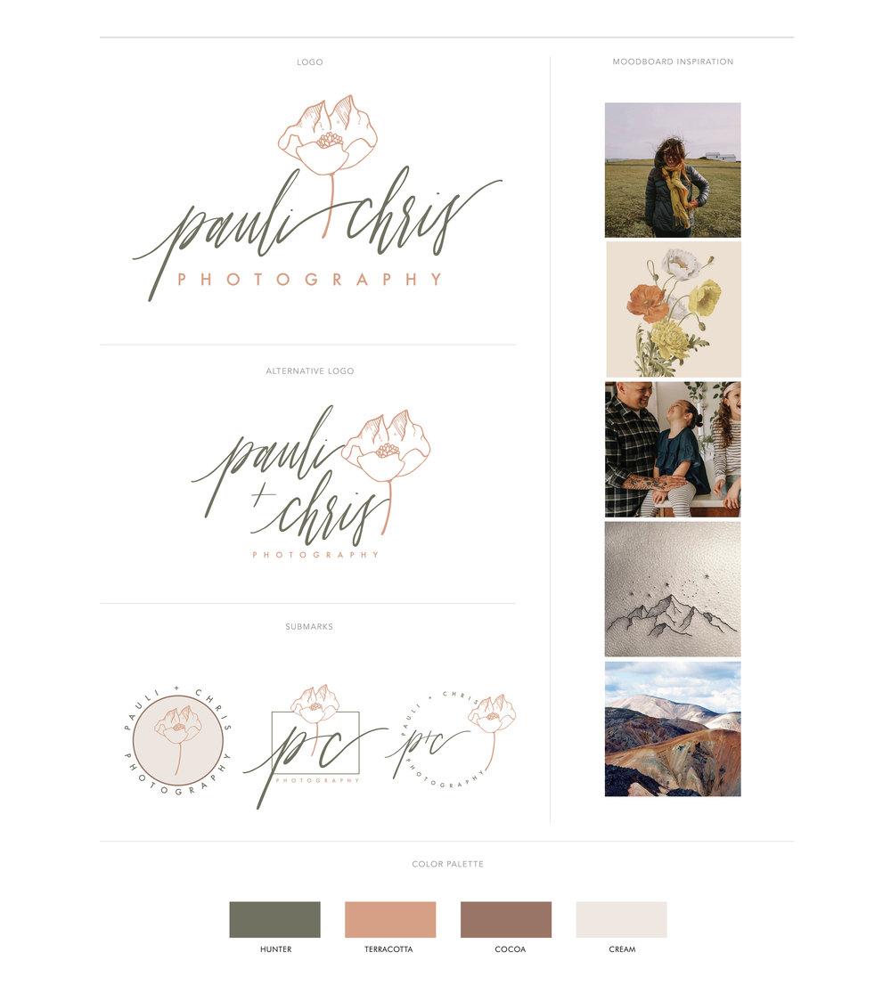 Set of Photography Logos