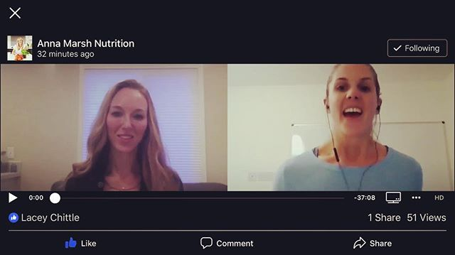 I'm in humbled awe of the response to the interview with Anna Marsh that aired today. Already over 900 views.  Thank you for all those who watched, shared, messaged me and took the first step to figure out your own health mystery and took the inflammation quiz on my website.  For all those out there suffering from chronic pain, fatigue, GI issues, unknown causes of symptoms, there is hope, there is a cause to your symptoms and there is a resolution. .  If I can be of any help to anyone out there dealing with similar issues please reach out. Message me or fill out a free consult form, (Link in bio.) . . . . . #chronicillness  #chronicpain #chronicfatigue  #chronicfatiguesyndrome  #ibs  #pain  #functionalmedicine  #functionalnutrition  #integrativemedicine  #integrativenutrition  #integrativehealth  #sjogrens  #lupus #hashimotos  #autoimmunedisease  #autoimmune  #autoimmunewarrior  #spoonie  #spoonielife  #eds  #pots  #dysautonomia