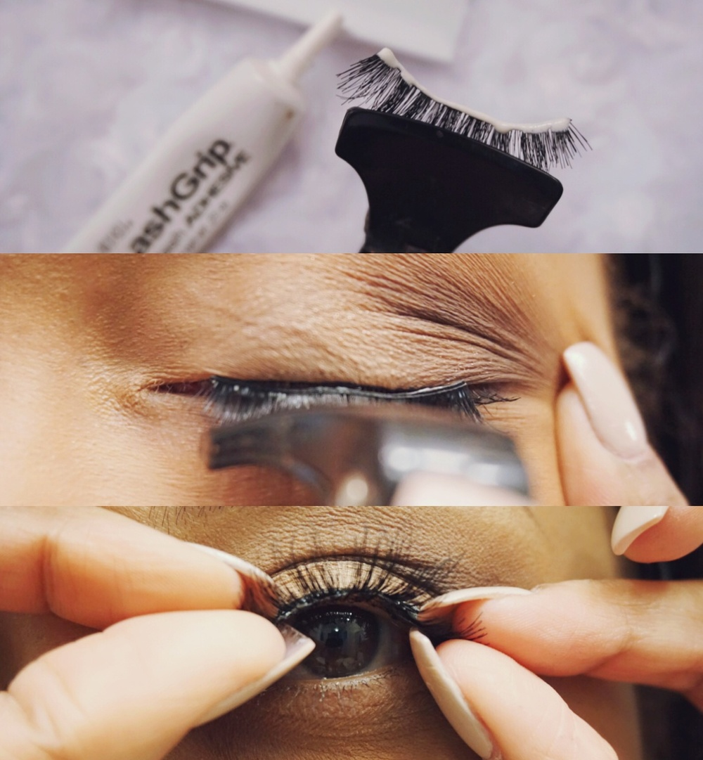 d8b2efd481d Easiest Way to Apply False Lashes — Sam Loves Glam