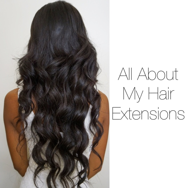 All About My Hair Extensions Sam Loves Glam