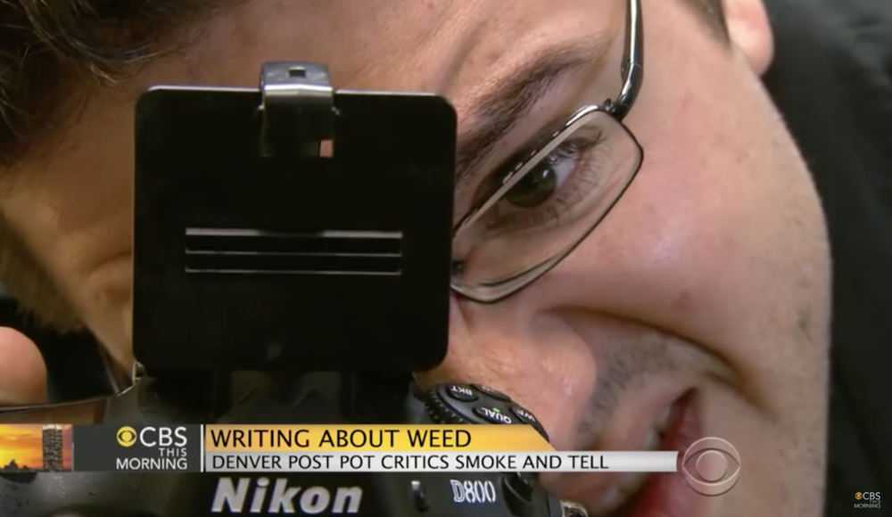 """Writing About Weed"" - CBS This Morning Appearance, July '14"