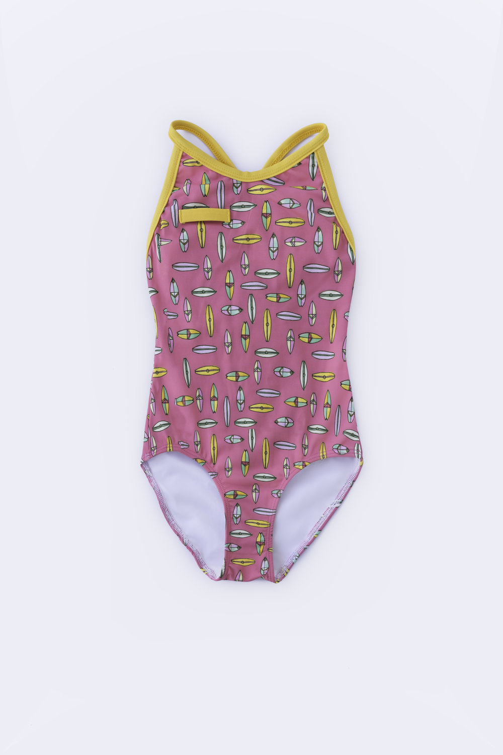Raspberry Surf One Piece