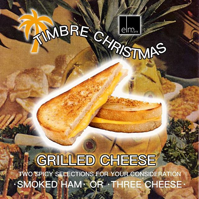 Tonight! Catch us at the @timbreyeg Christmas party! We'll be slingin' those good good grilled cheese Sammie's and our buds at @blindmanbrewery are on beer duty. Hit the @timbreyeg link in their bio for a free ticket!