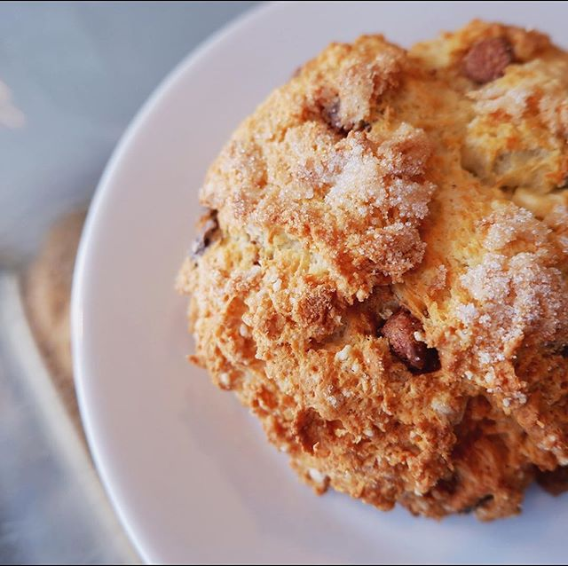 Highway to the SCONE ZONE. Baked fresh daily from our sister cafe @districtcafeyeg, the perfect wingman to our $1 daily drip coffee deal from 12-1pm!