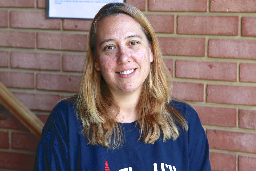 Ms. Jill Barefoot - Grasshopper Lead Teacher. She holds a B.A. in Anthropology and Sociology from Florida International University. She also holds a Child Development Credential for preschool. Jill's teaching style is greatly influenced by the Reggio Emilia philosophy. She loves integrating elements of nature and real world materials into the classroom! Jill also has a passion for providing young children with opportunities to explore their creativity, and has turned one side of the Grasshopper Classroom into an atelier!