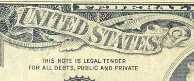 "after 1963: ""this note is legal tender for all debts, public and private."""