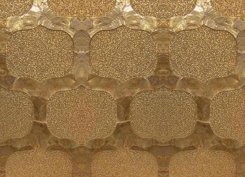 Maya Romanoff Starlit Lattice Wallcovering