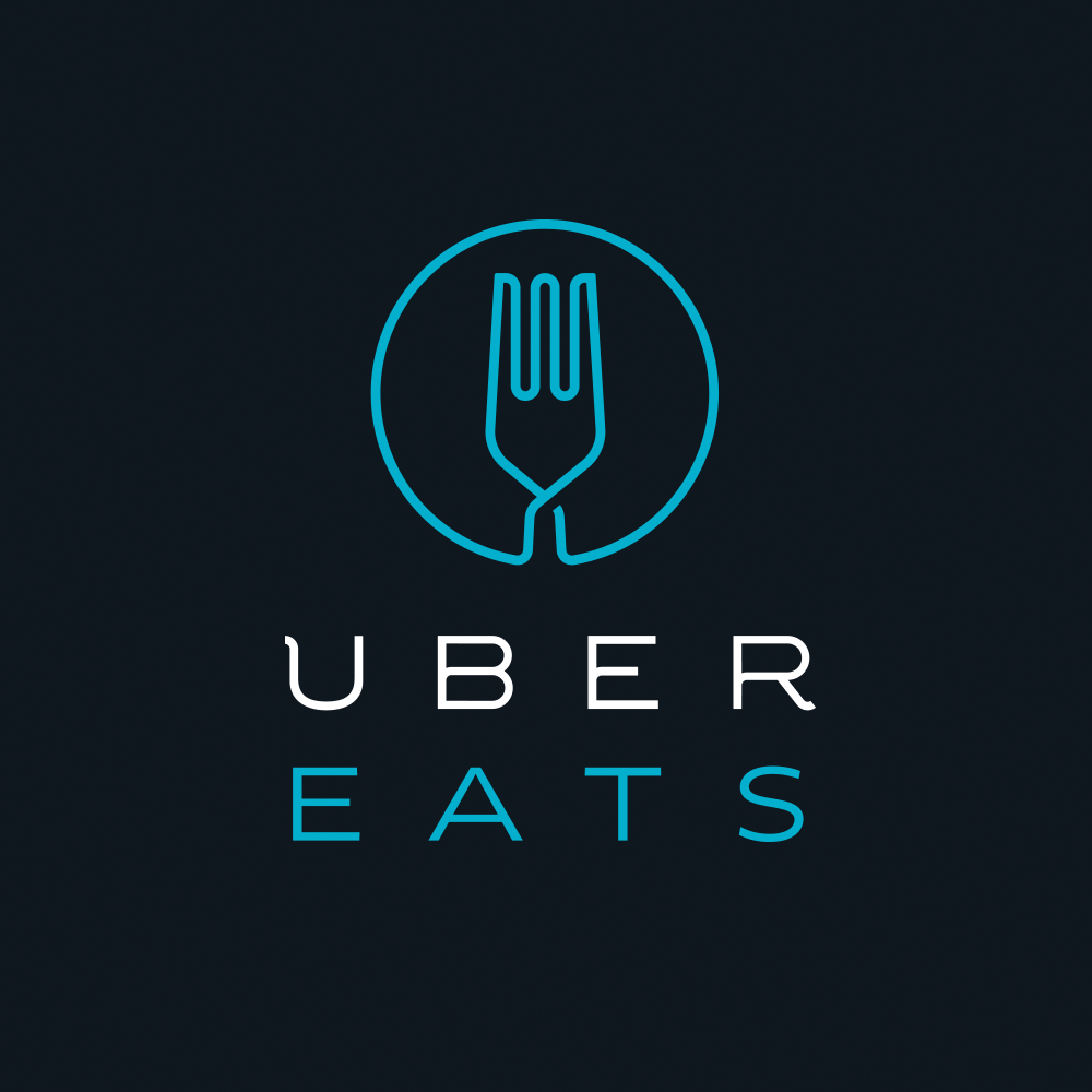 Uber Eats Logo with Link to Creamline delivery purchase page on Uber Eats.
