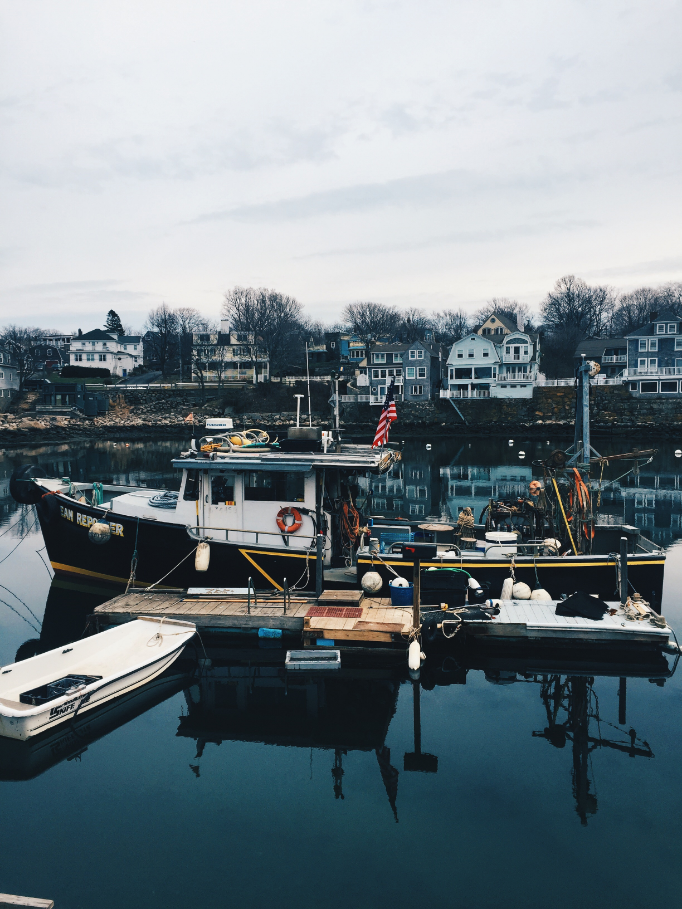 A local fisherman's boat. There were a ton of these on the harbor.