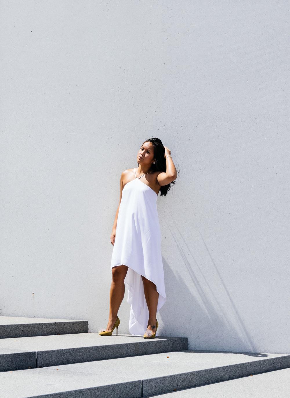 dress: express, shoes: jcrew photo by brenda phan