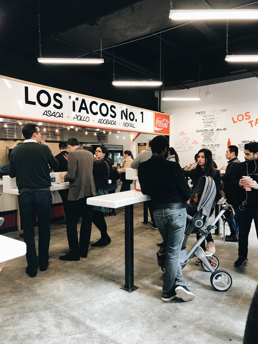 los tacos no. 1 on west 46th