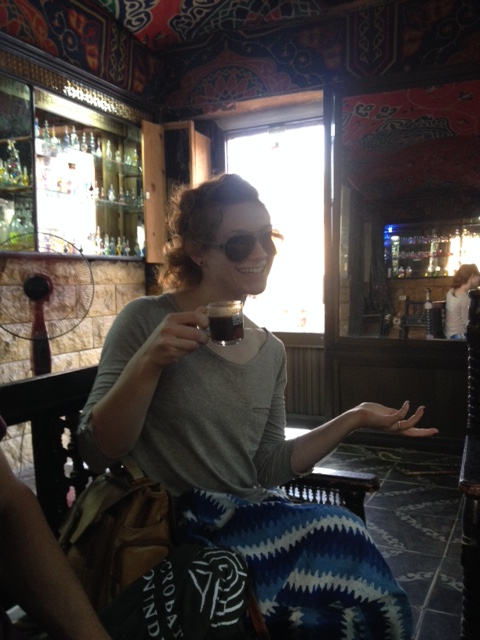 Anna and turkish coffee!