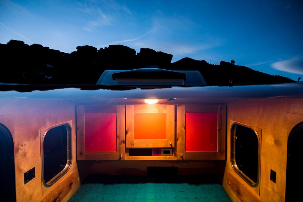 caravane cabine remorque