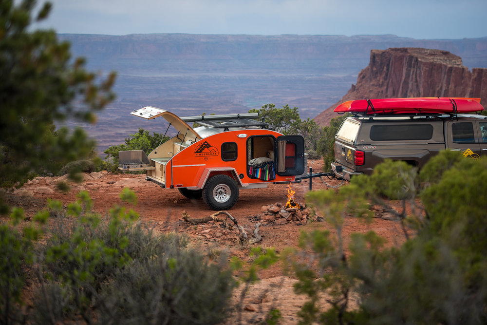 Adventure awaits with the offroad teardrop trailer.