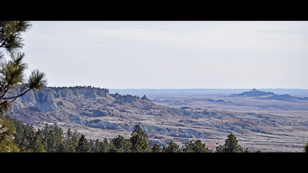 The northwest region of South Dakota is full of rolling plains,  rocky buttes, winding creek and river beds.