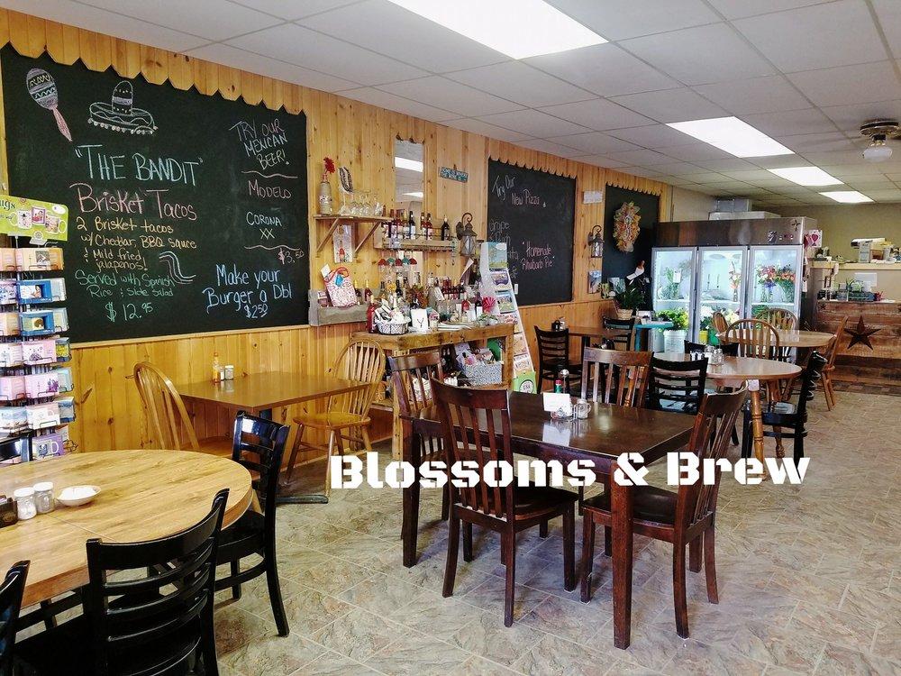 Blossoms & Brew  - Restaurant, Coffee Shop, Gift Shop & Florist Buffalo, SD (605) 375-3828