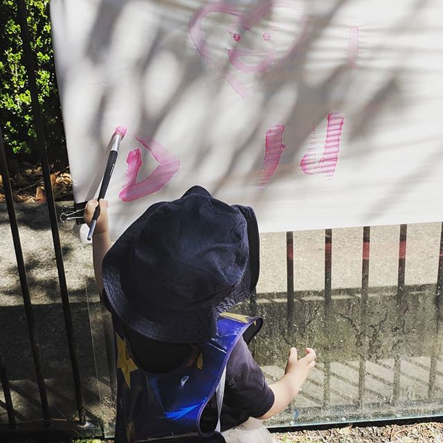 It's been a wonderful Hearing Awareness Week at Catherine Sullivan Centre. On Wednesday we celebrated the last day of summer by painting and playing outside in the beautiful sunshine 👂🔆🖌️💦 #hearingawarenessweek2018 #lastdayofsummer #earlyinterventionfordeafchildren #hearinglosswontstopme