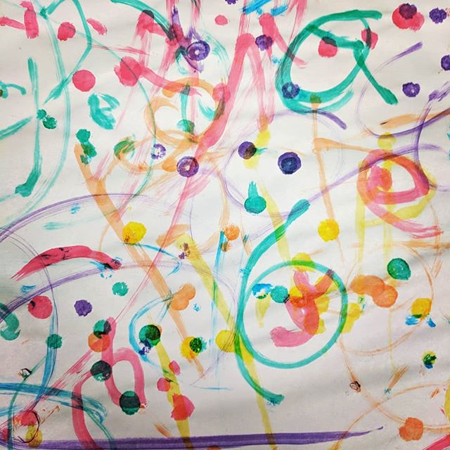Dots! Lines! Swirls! While our WAVES parents where engaged in a parenting course run by @catholiccaresydney the children were kept very busy 🖌️ #dotpaints #earlyinterventionfordeafchildren #hearinglosswontstopme