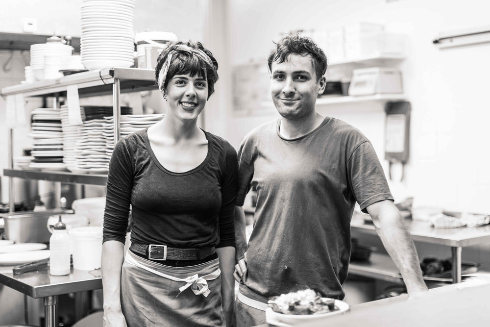 We love working with Fiona and Adam Viekkanen of Polo Restaurant!