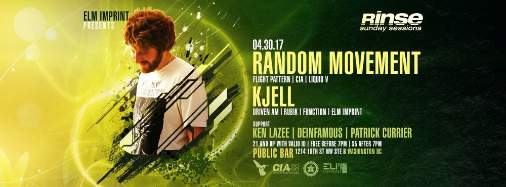 4/30/17 (D.C.) Rinse Sunday Sessions