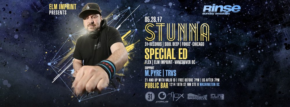 5/28/17 (Washington, DC) STUNNA/SPECIAL ED
