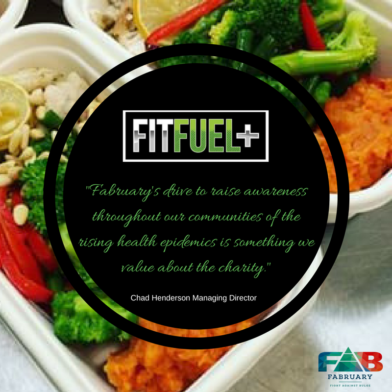 What is Fitfuels+ main goal?   F itFuel Plus was created endeavouring to produce the best meal management company that real individuals and serious fitness/health enthusiasts can rely on.     What makes you different from other meal prep?   FitFuel Plus allows the individual to create and tailor their own meals to specific training requirements. Using a macro nutrition based ordering profile, this gives individuals the ability to choose how much, protein, carbohydrates, fats they require for each meal.   Why did you start Fitfuel+   We developed FitFuel Plus, to remove the stress out of meal planning and preparation along with education, allowing individuals to reach superior performance while saving time and money.    Whats the best thing about your business?   Overall satisfaction within our business is seeing our members achieve goals and expand their knowledge with the help of FitFuel Plus.   Whats in the pipelines for the 2nd half of the year?   The 2nd half of the year proves to be the biggest structural change our company has gone through since operation (August 2016) with a new website under construction, logo redesign, merchandise (apparel) launch expected August this year.   Why did you choose to partner with Fabruary?   Fabruary's drive to raise awareness throughout our communities of the rising health epidemics is something we value about the charity. FitFuel Plus is driven by education so it was an easy choice for us to team up, as many hands make light work.   What are you currently working on with Fabruary?   FAB and FFP 2017 proves to be one of the biggest years yet together with new content streaming on our socials,such as recipes, nutrition eduction, healthy lifestyle approach and also growing our fab community FB page.